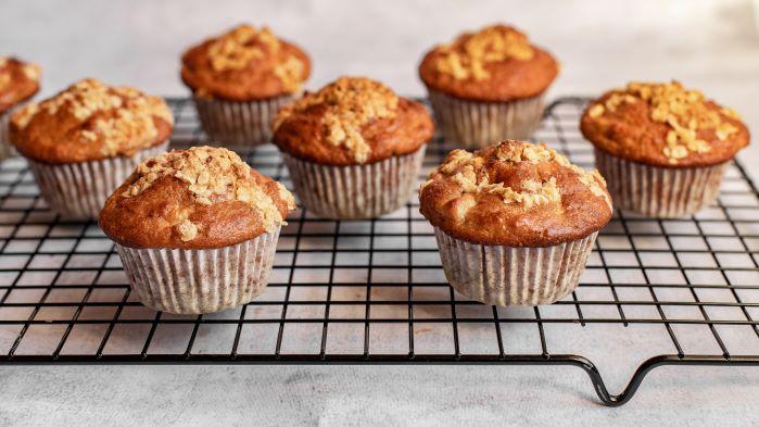 Pumpkin Oatmeal Muffins